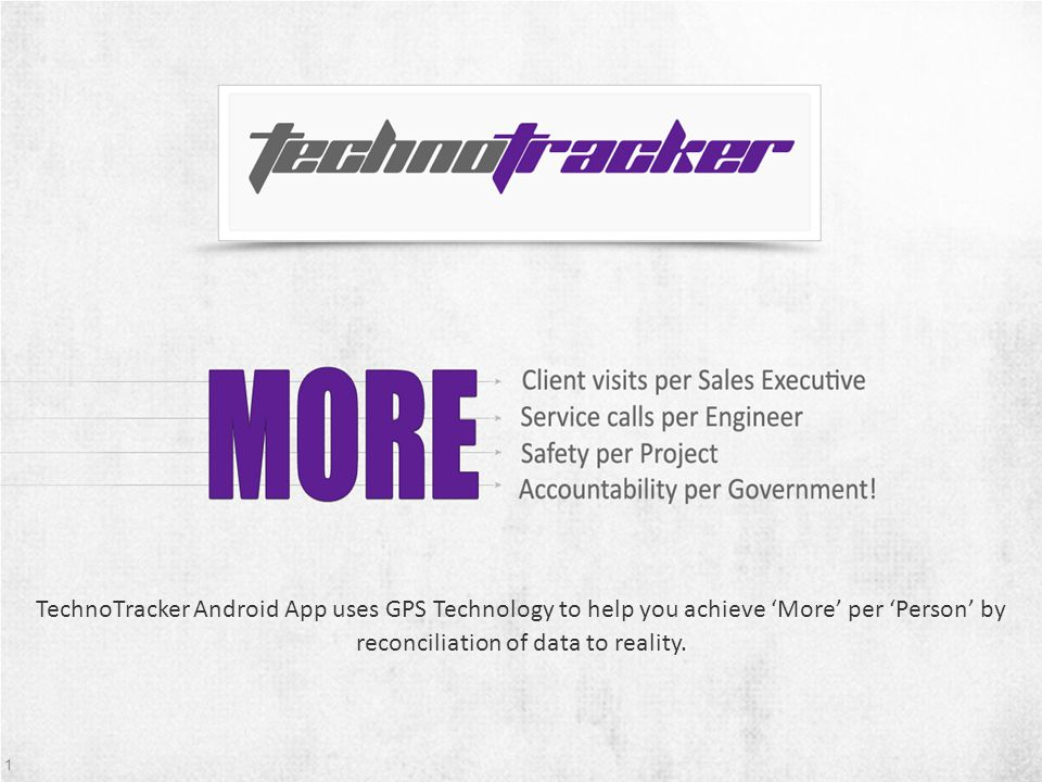 2 About TechnoPurple 2010 VTS Launched Team Building Customizable Tracking Platform Launched TechnoTracker Launched M2M Solutions Amit Jain Managing Director B.E IT VJTI 5 Years in Management, Sales Amol Ambekar Solution Architect Mechanical Engg.