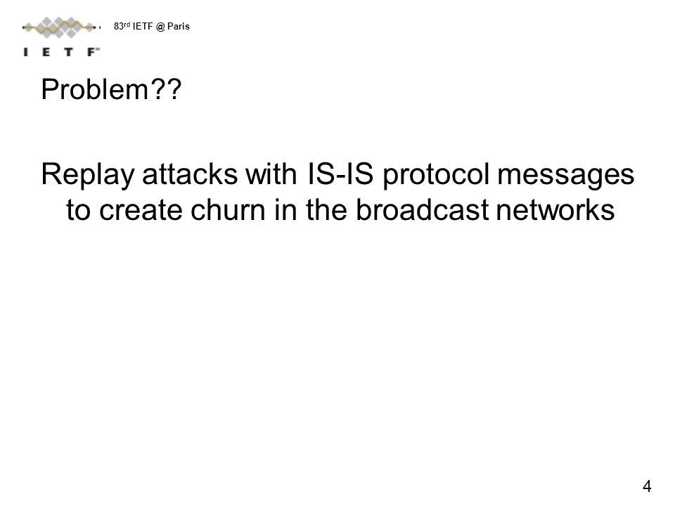 Problem?.