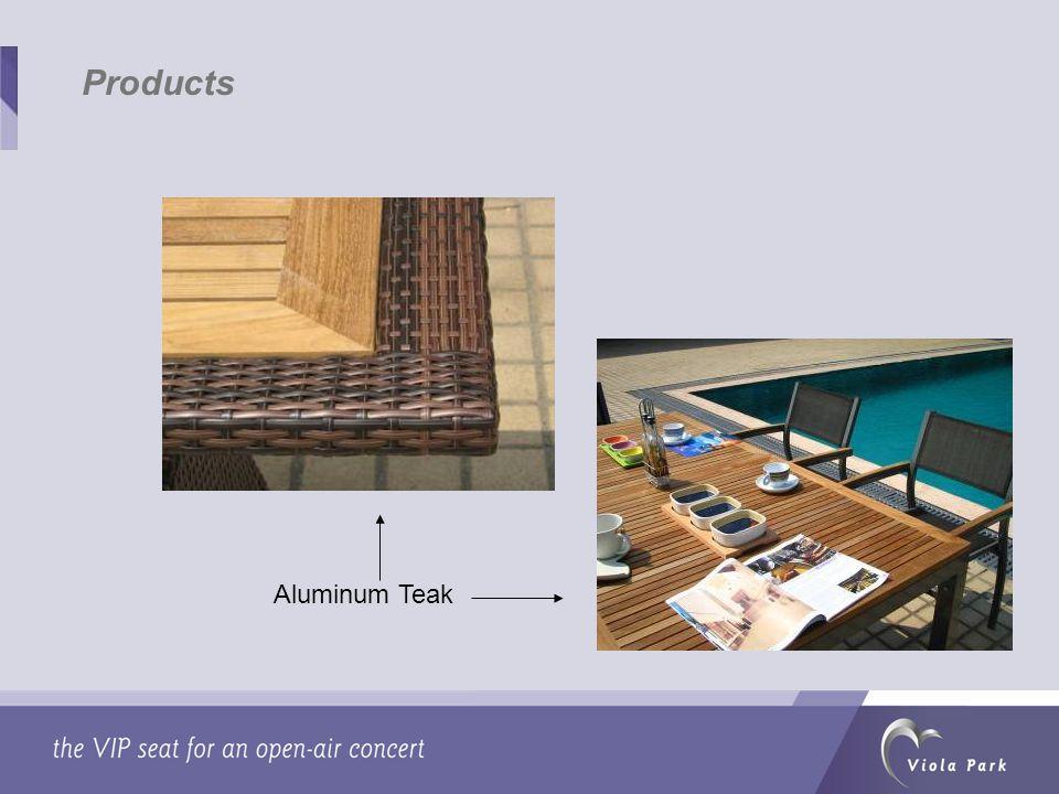 Products Aluminum Teak
