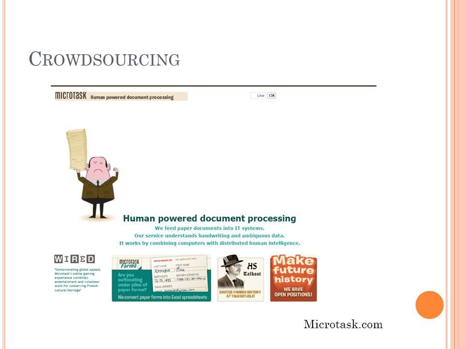 C ROWDSOURCING Microtask.com