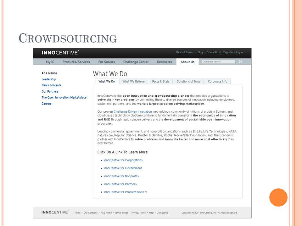 C ROWDSOURCING