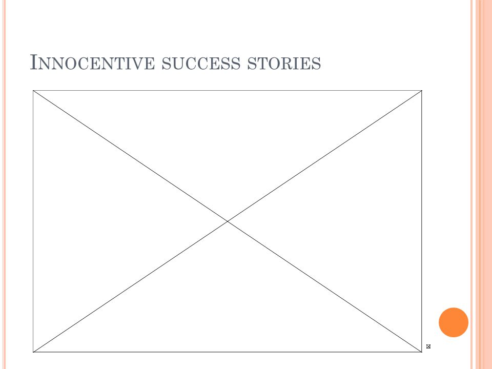 I NNOCENTIVE SUCCESS STORIES