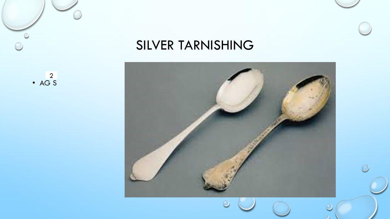 SILVER TARNISHING AG S 2