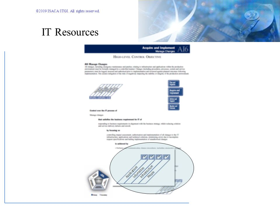 ©2009 ISACA/ITGI. All rights reserved. Information Criteria