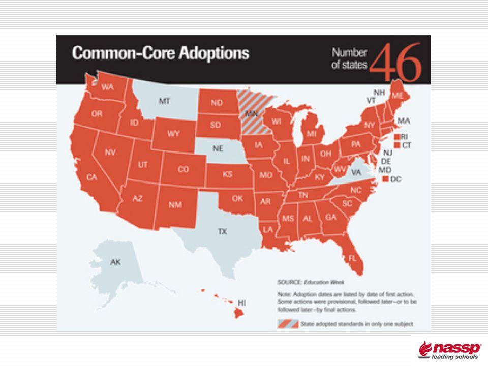 Common Core Adoptions 46
