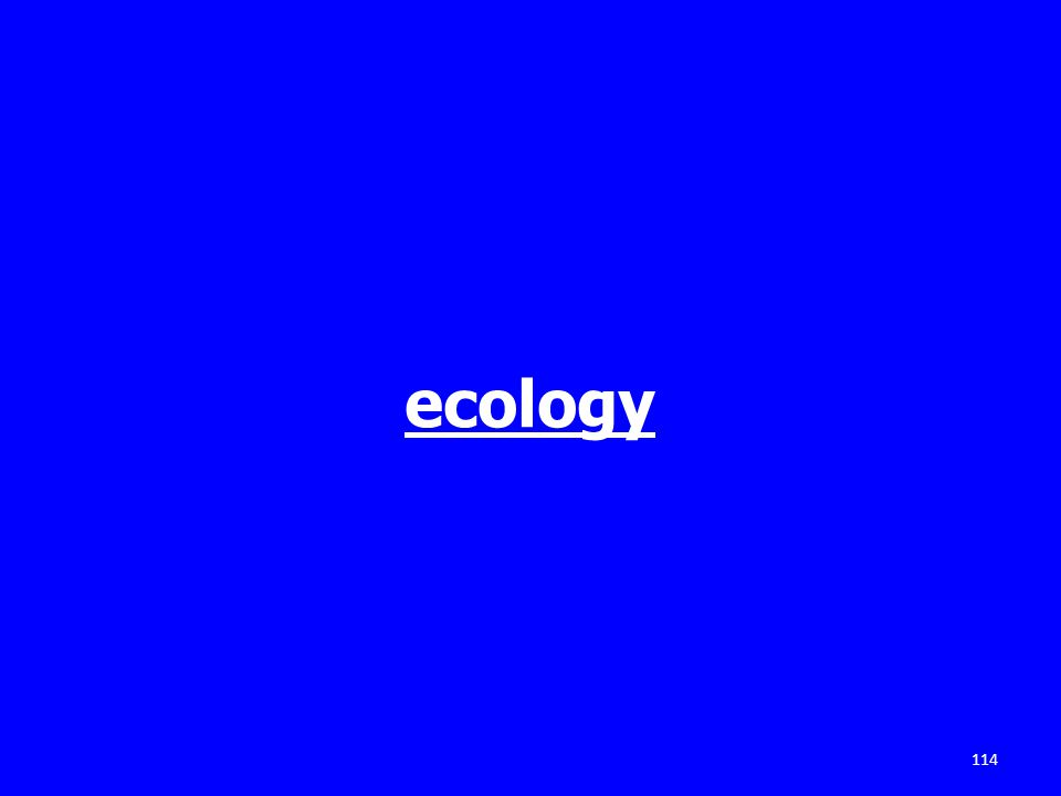 ecology 114