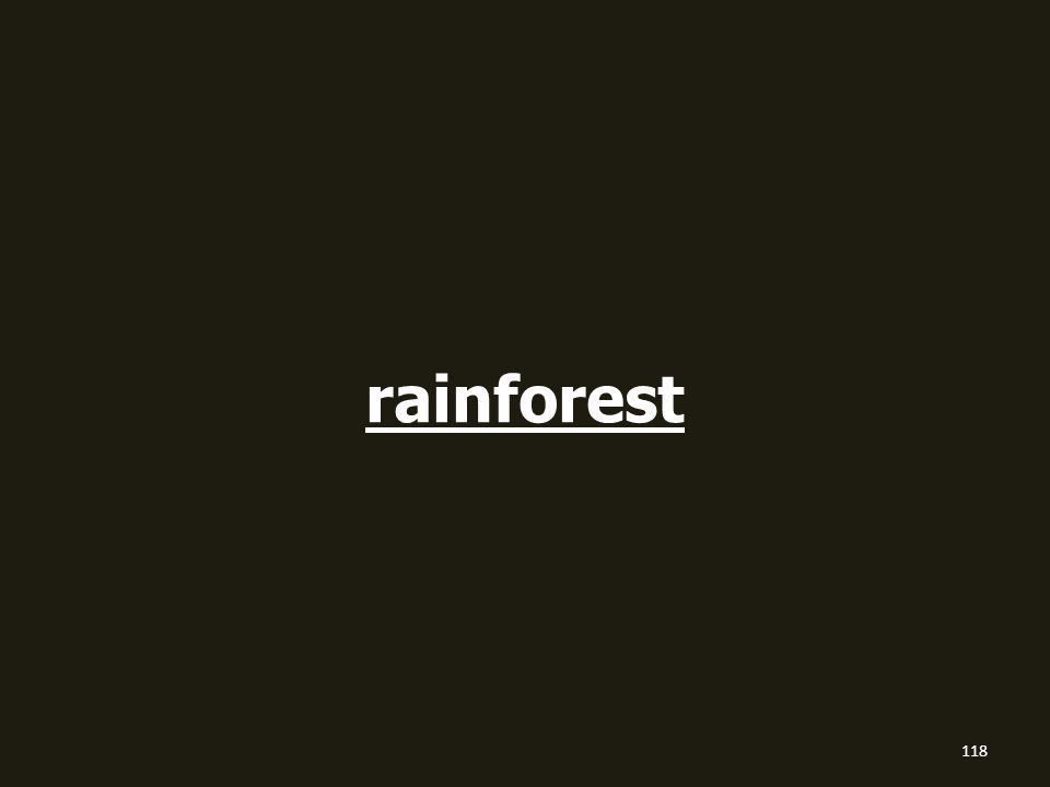 rainforest 118