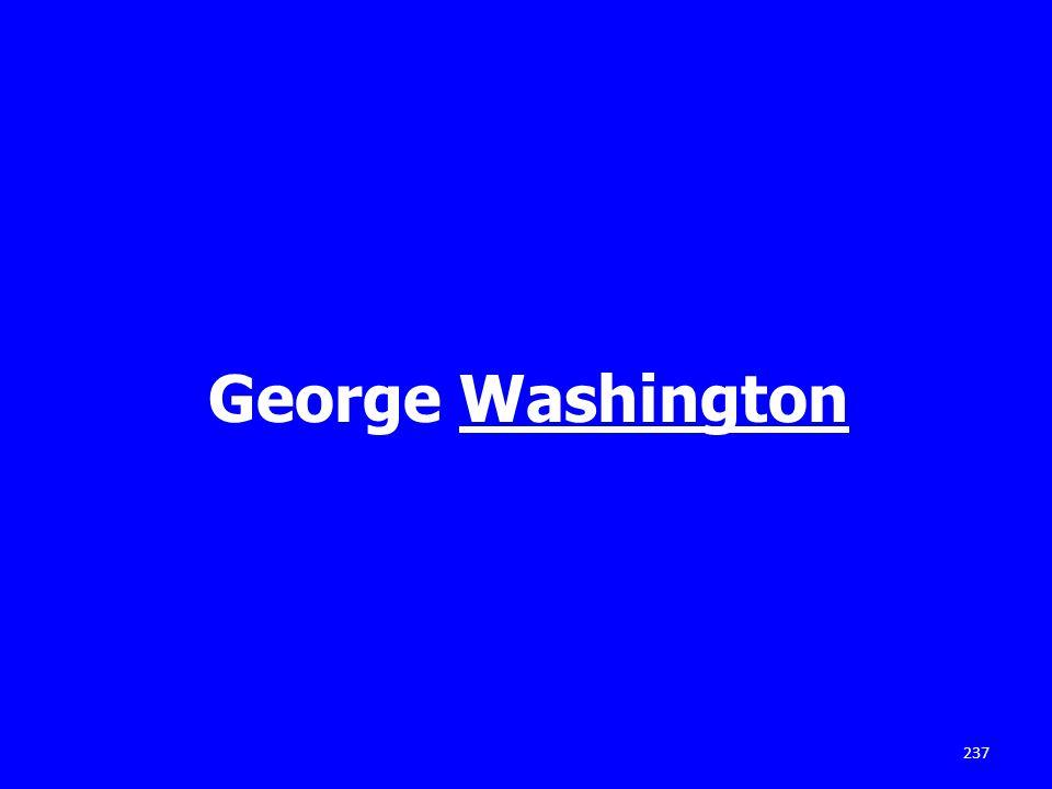 George Washington 237