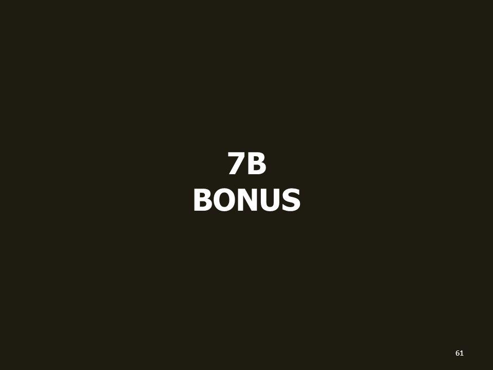 7B BONUS 61