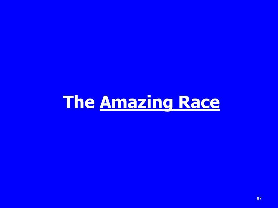 The Amazing Race 87