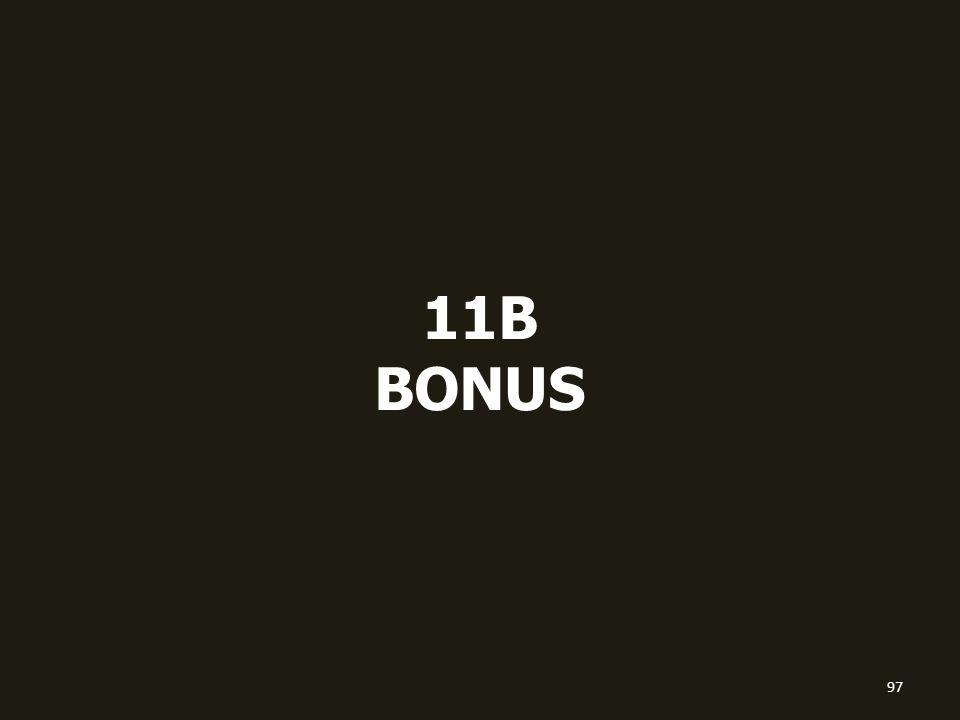 11B BONUS 97