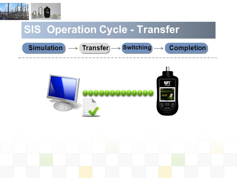 SIS Operation Cycle - Transfer SimulationTransferCompletion Switching