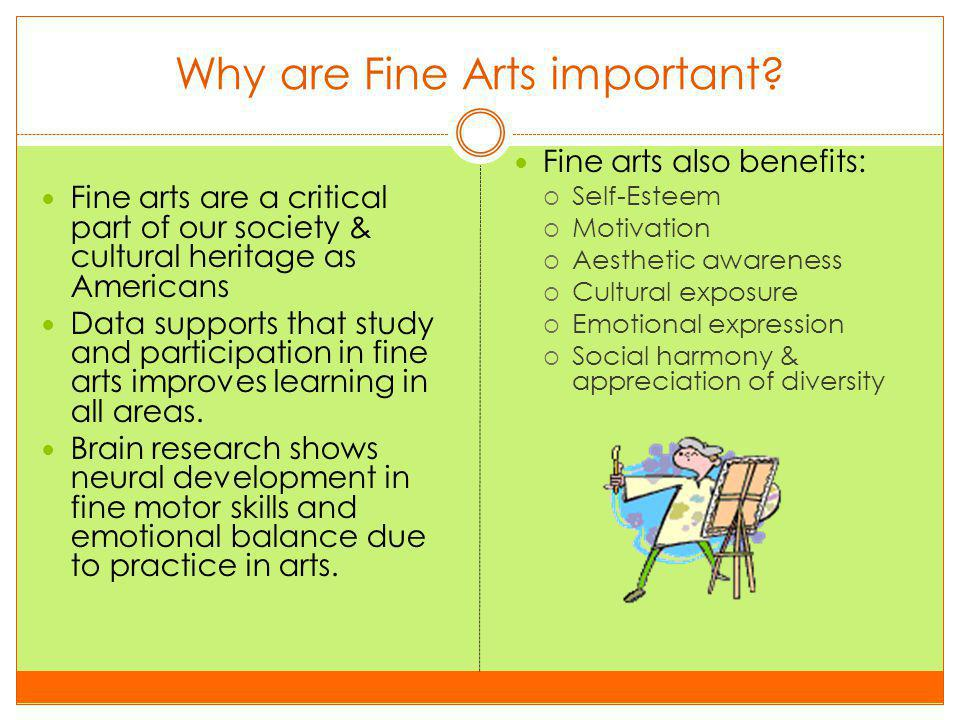 Fine Arts Programs Disappearing.