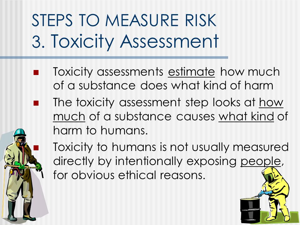 STEPS TO MEASURE RISK 3.