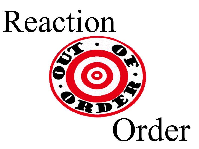 Order Reaction