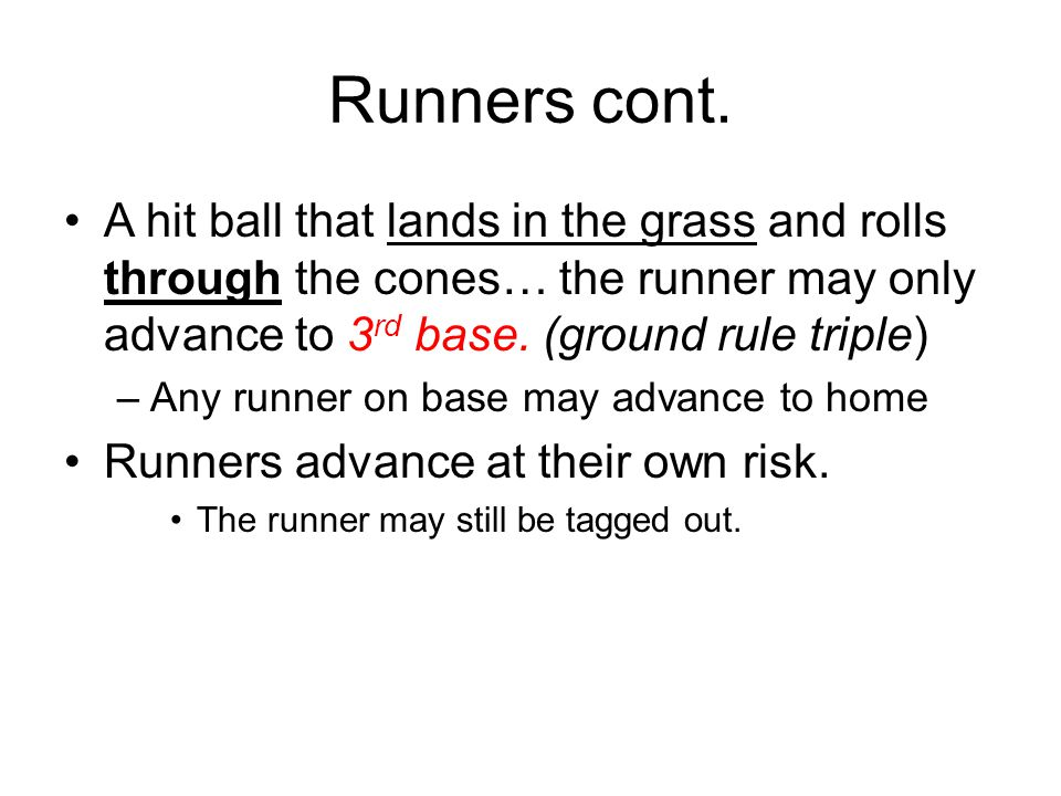 Runners cont.