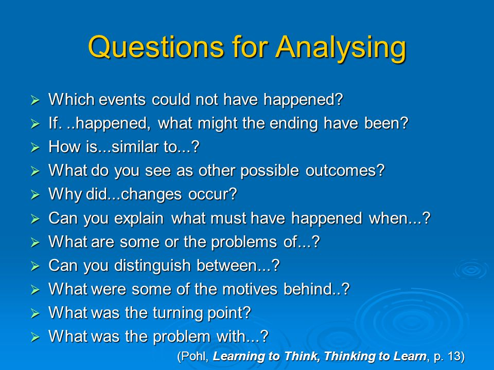 Classroom Roles for Analysing Teacher roles Probes Probes Guides Guides Observes Observes Evaluates Evaluates Acts as a resource Acts as a resource Qu