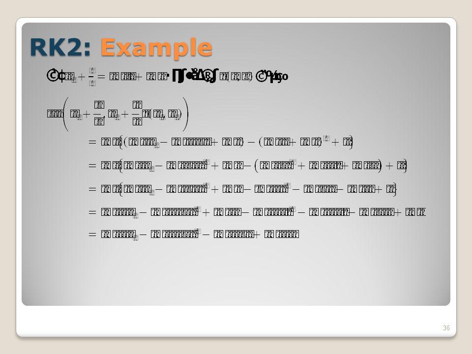 RK2: Example 36
