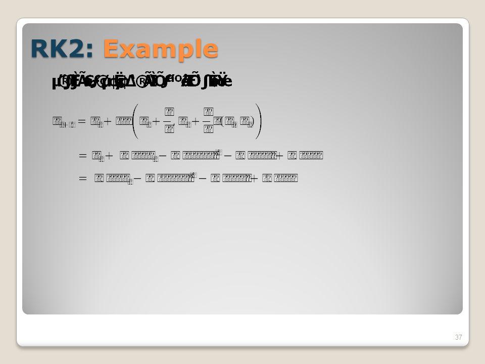 RK2: Example 37