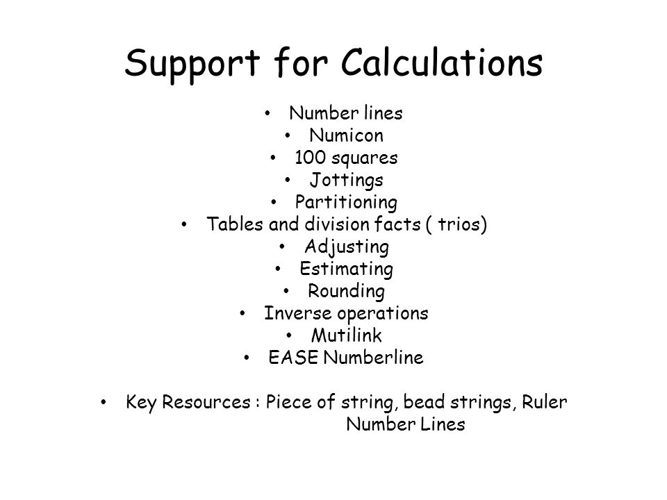 How You Can Help Your Child At Home 1.Talk to you child about his/her maths homework.
