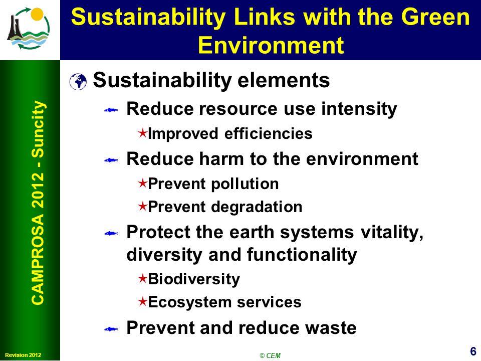 7 CAMPROSA 2012 SunCity Making Universities More Sustainable