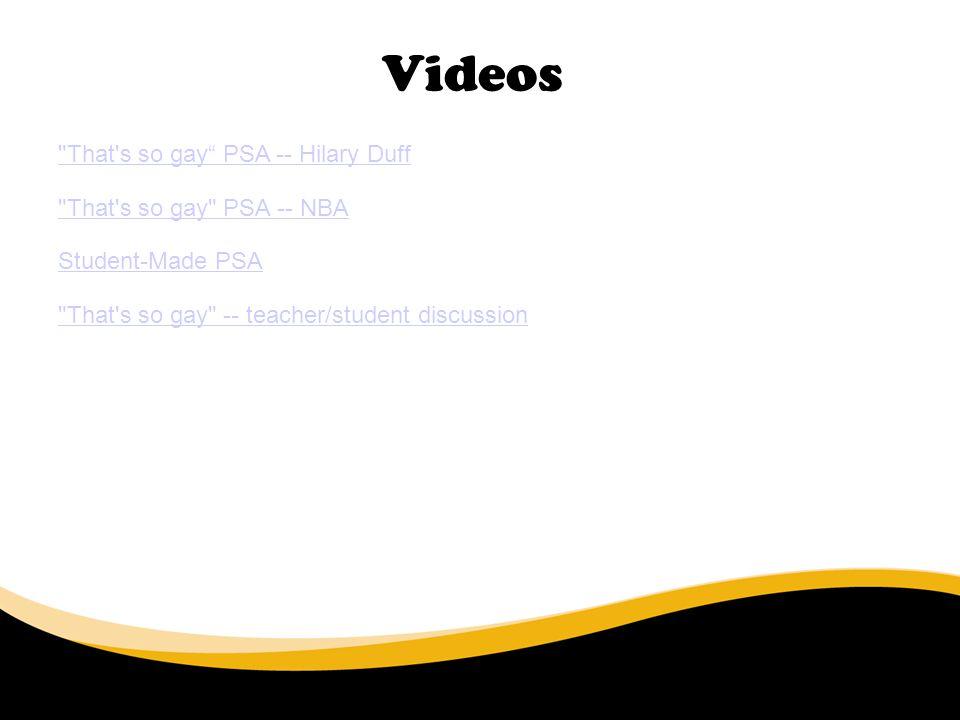 Videos 6/30/11
