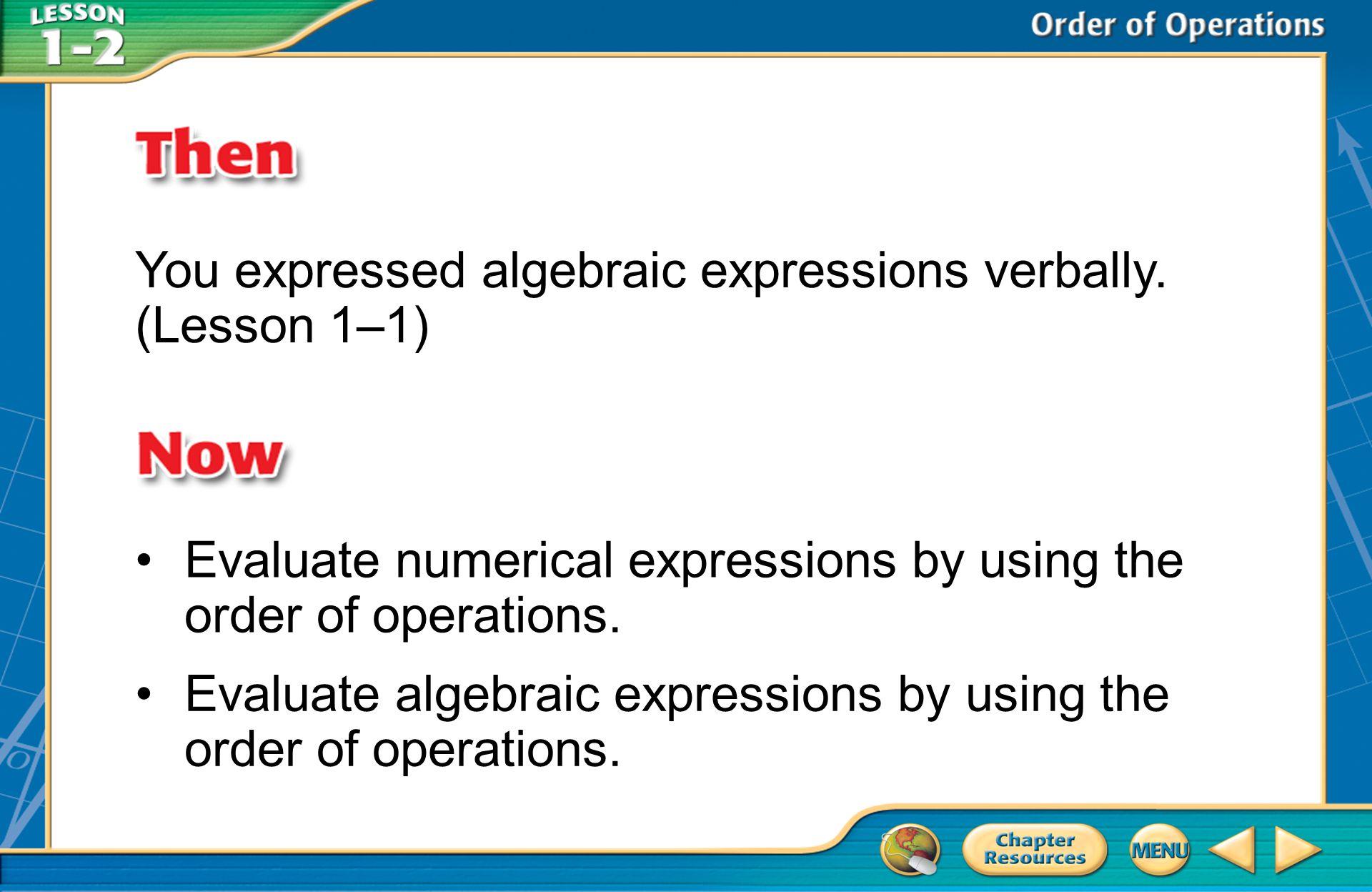 A.A B.B C.C D.D Example 1 A.64 B.128 C.192 D.256 Evaluate 4 4.