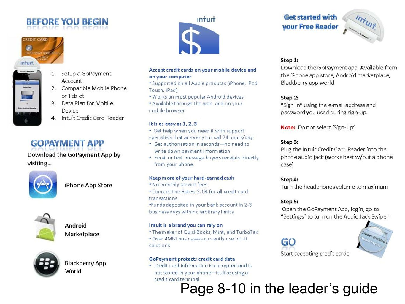 Page 8-10 in the leaders guide