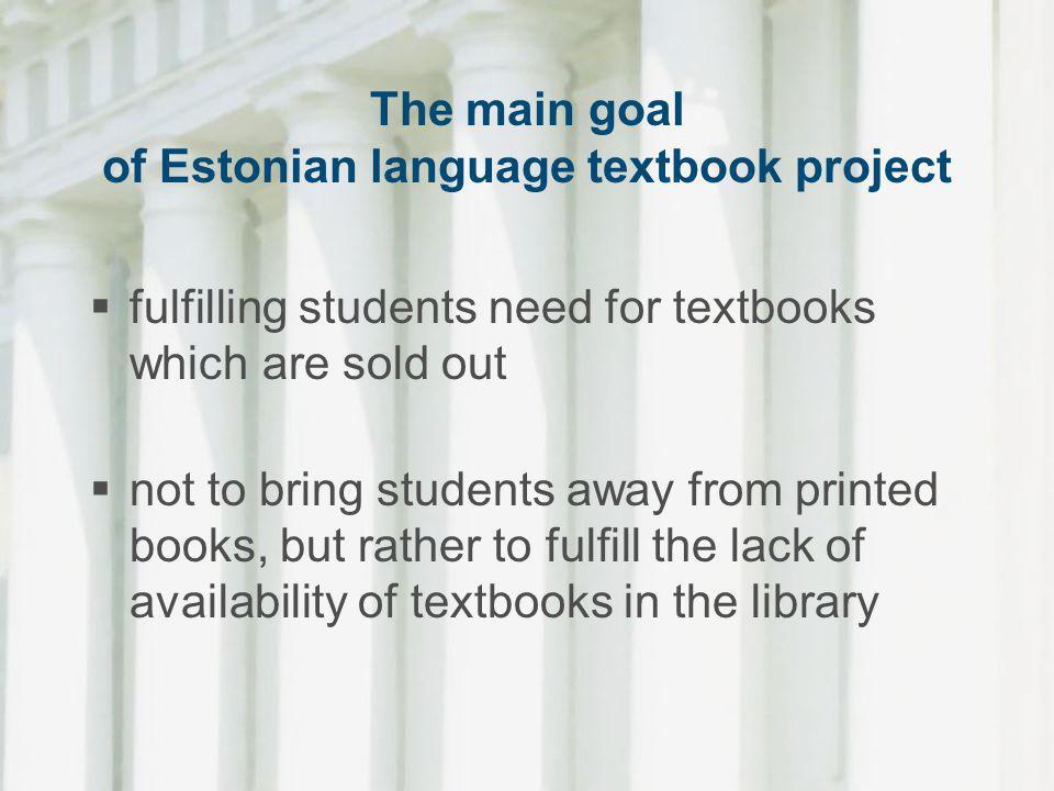 The University of Tartu Press has new directions towards OA academic publishing