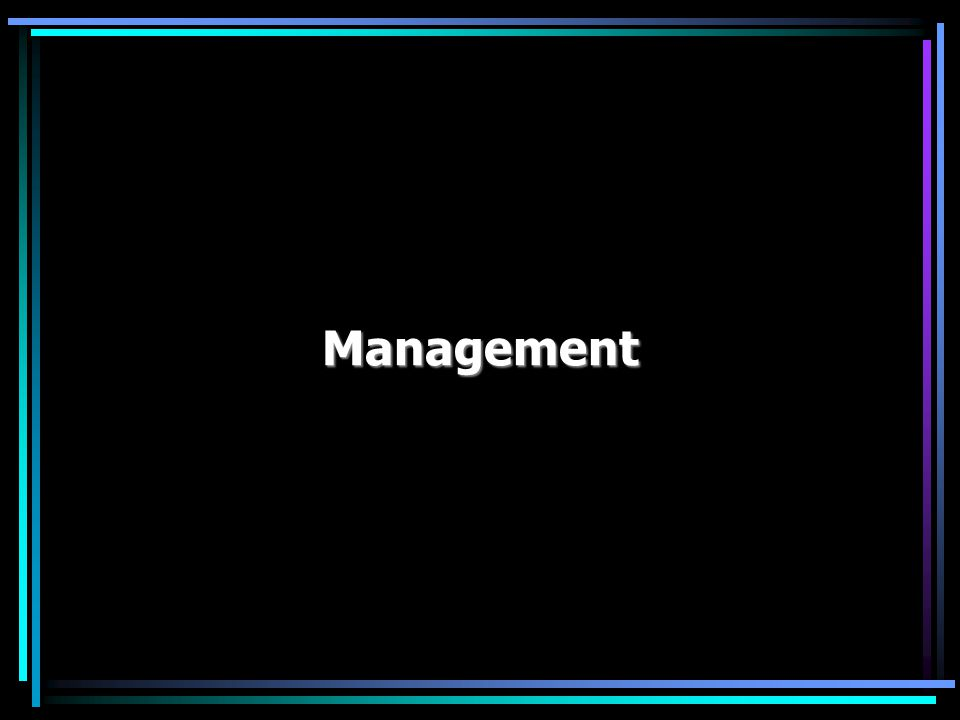 key questions Management: key questions What is management.