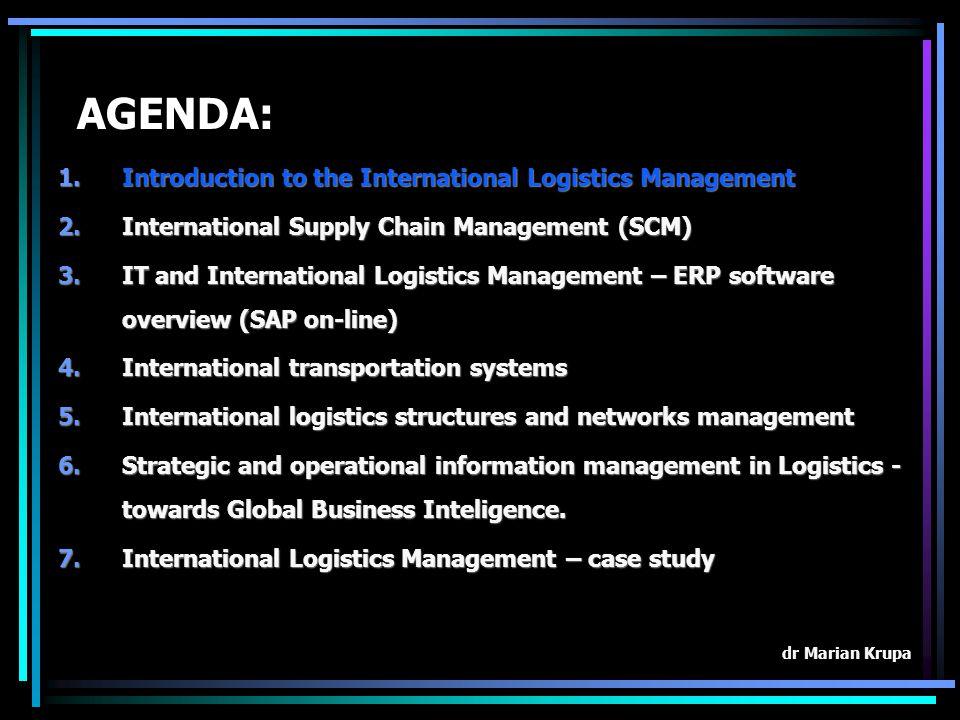 1.Logistics Management concept logistics – management – logistics management
