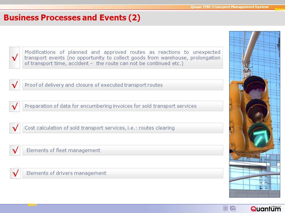 Quaar TMS-Transport Management System Next version s...