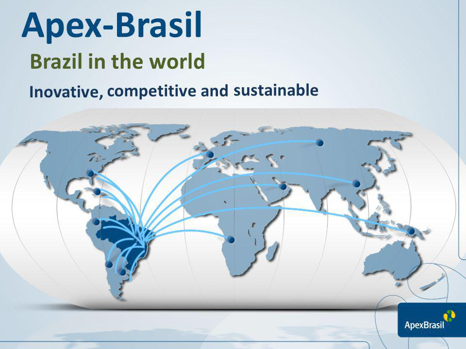 Brazil in the world Inovative, competitive and sustainable