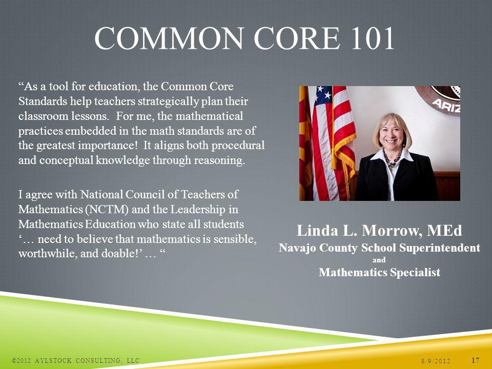 As a tool for education, the Common Core Standards help teachers strategically plan their classroom lessons.