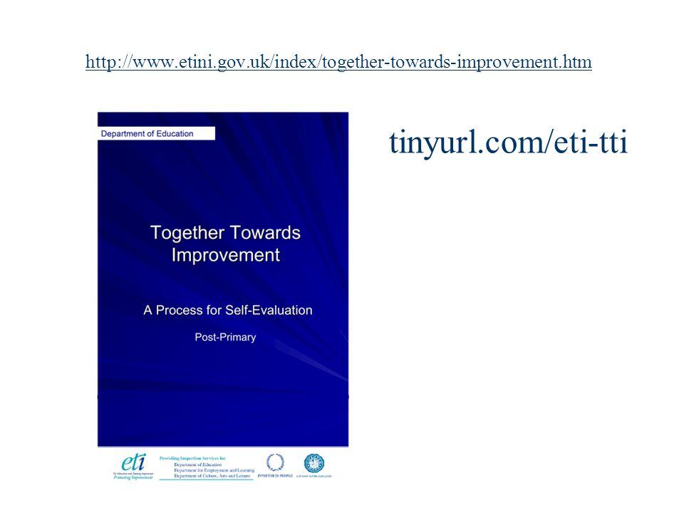 http://www.etini.gov.uk/index/together-towards-improvement.htm tinyurl.com/eti-tti
