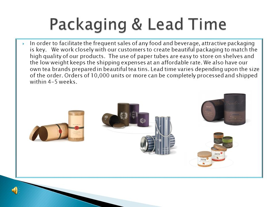 In order to facilitate the frequent sales of any food and beverage, attractive packaging is key.