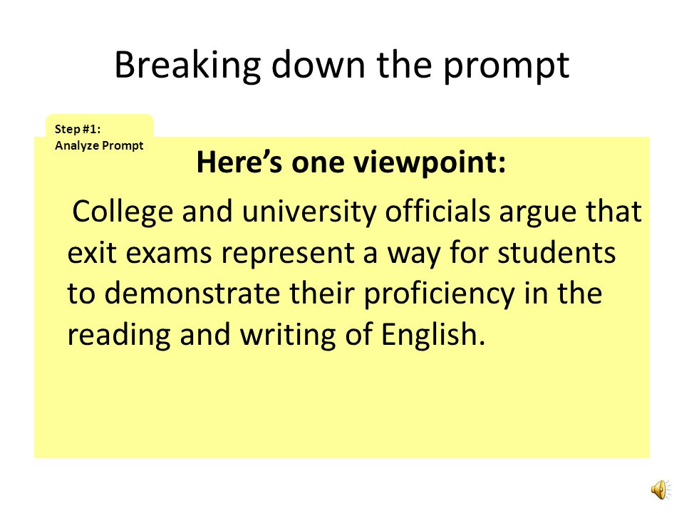 Identify the topic: An increasing number of states in this country now require graduating high school seniors to take and pass exit exams to demonstra