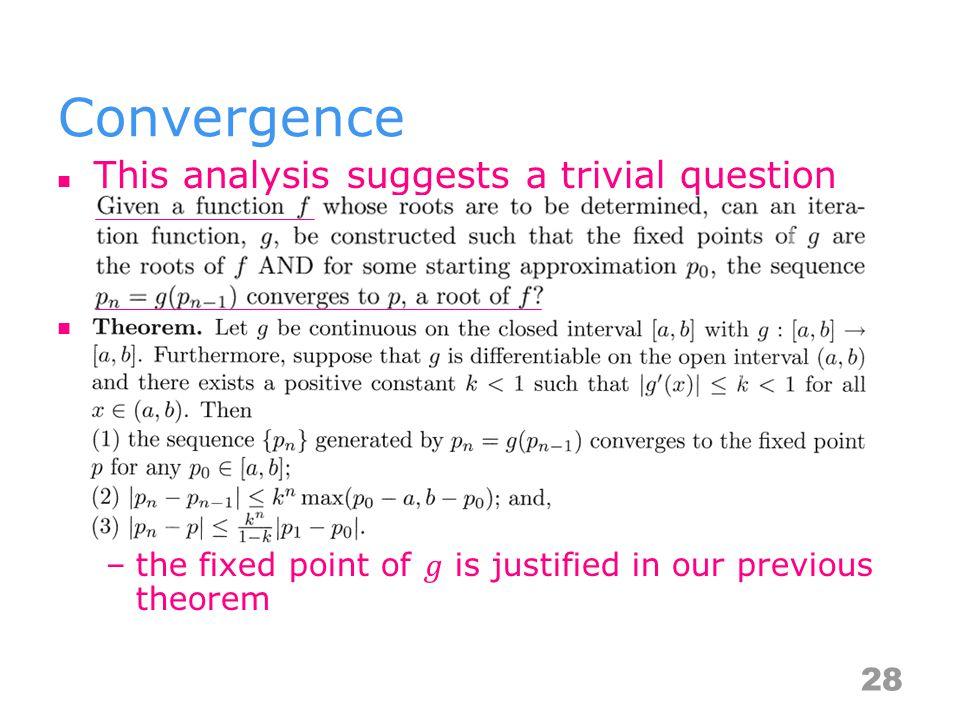 Convergence 28