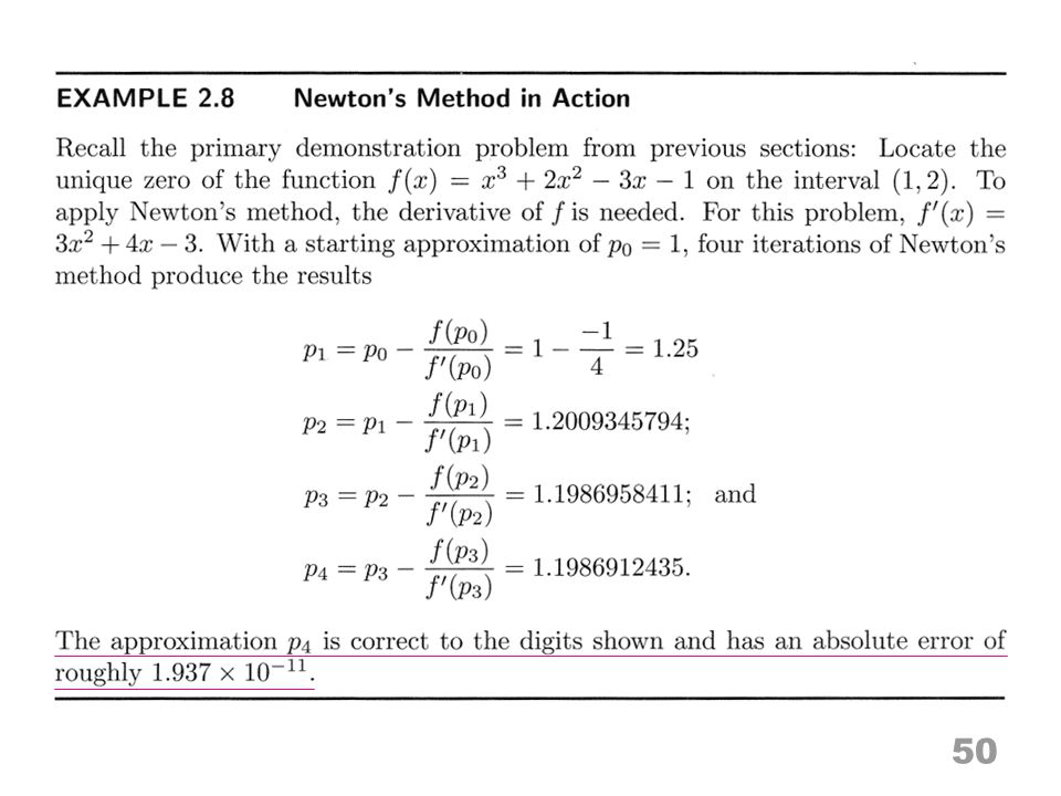 In the previous example 51