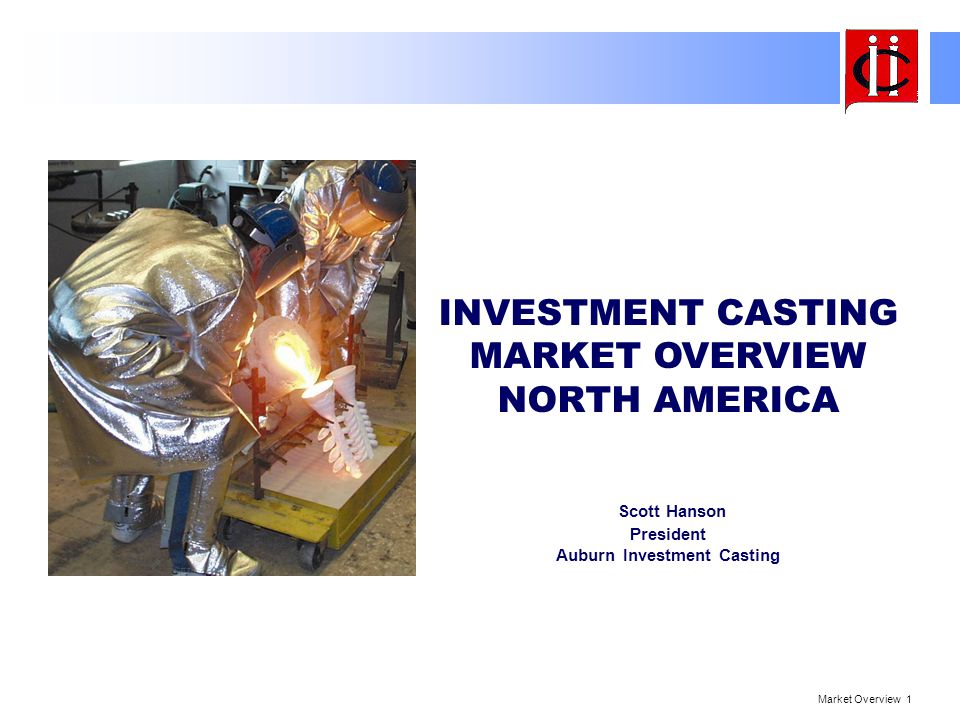 Market Overview 22 Summary Overall North American IC growth will continue All Market Sectors will benefit Off-Shore Sourcing effect on N.