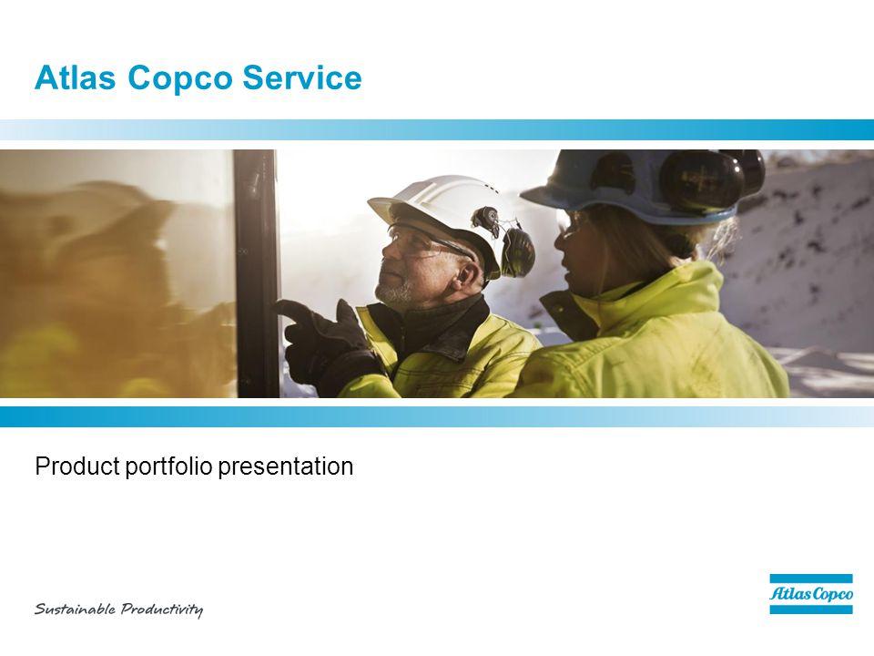 Atlas Copco Service Product portfolio presentation