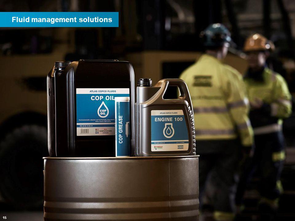 15 Fluid management solutions