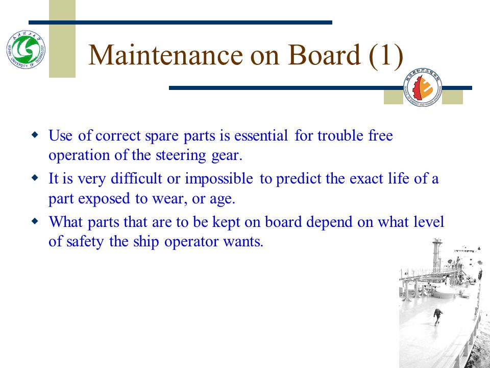 Learning objectives learn the different levels of spare parts.