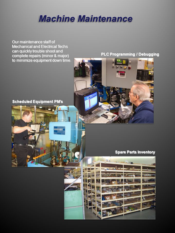 We have a complete range of metrology and metallurgical equipment.