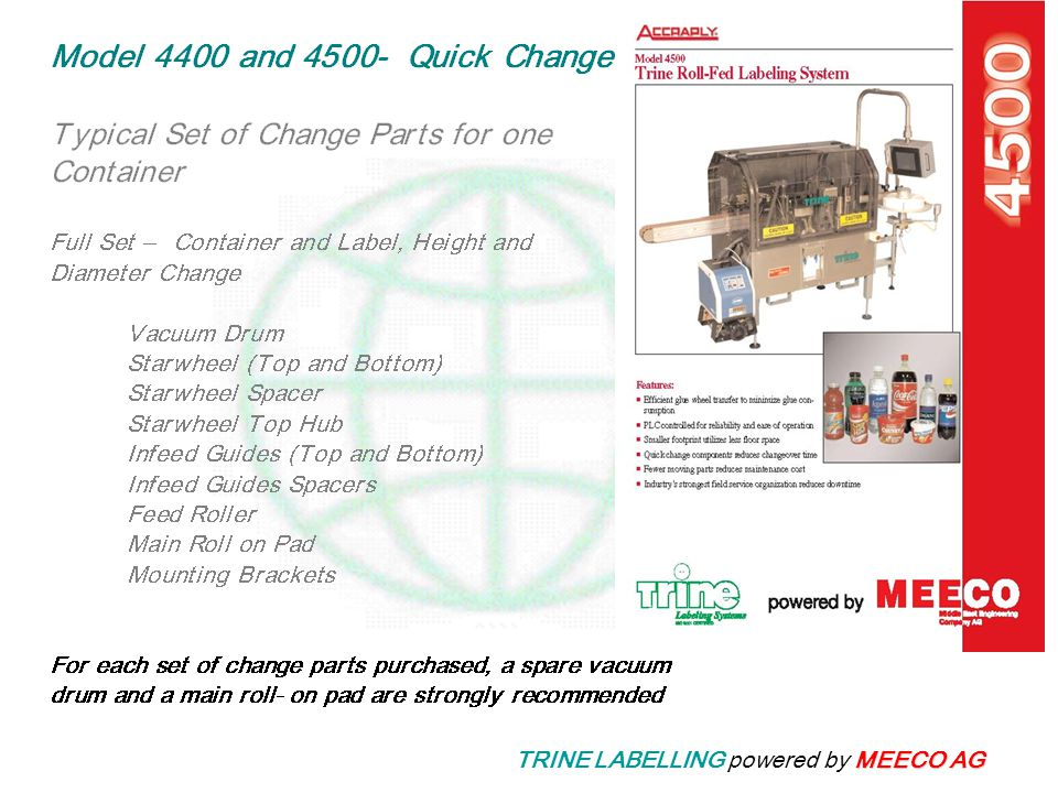 MEECO AG TRINE LABELLING powered by MEECO AG