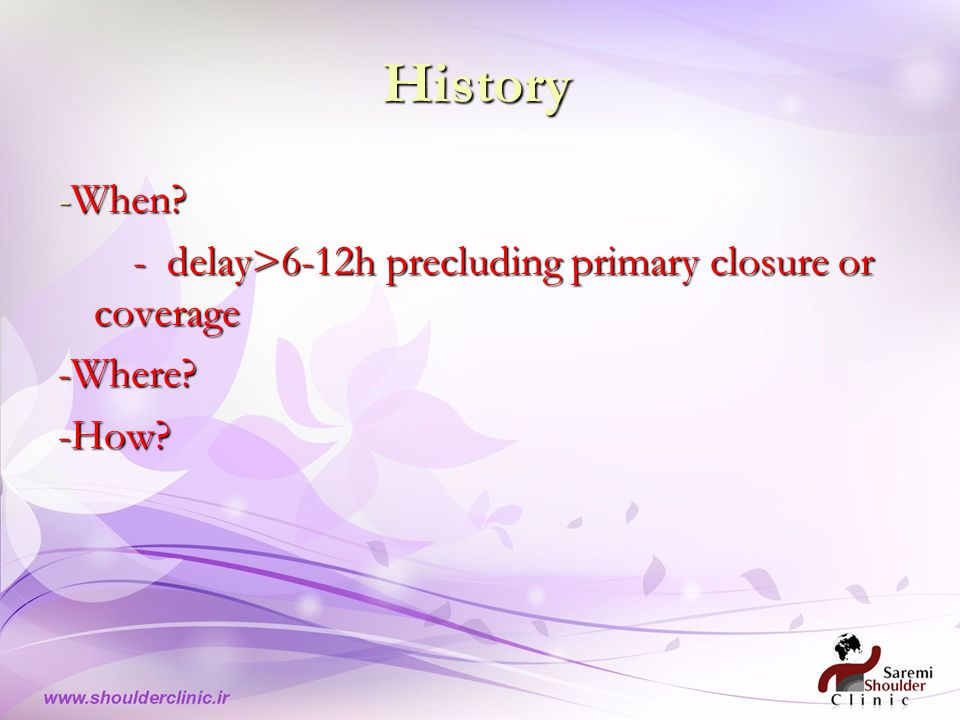 History -When.