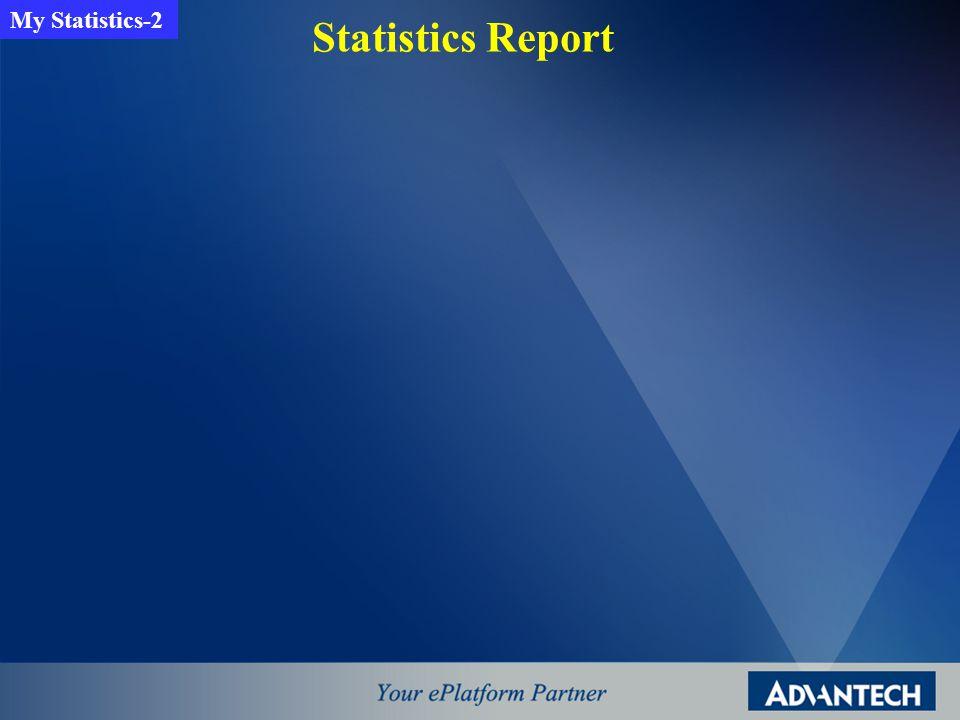 Statistics Report My Statistics-2