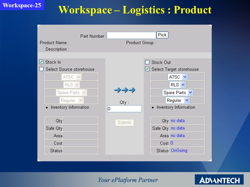 Workspace – Logistics : Product Workspace-25