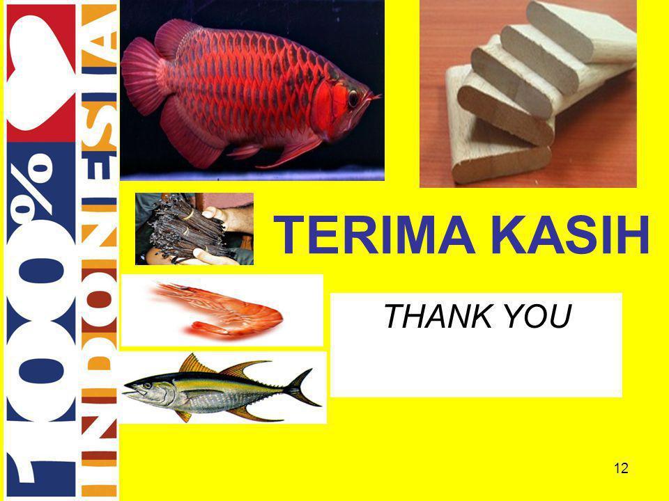 12 THANK YOU TERIMA KASIH