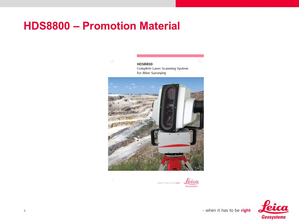 4 HDS8800 – Promotion Material